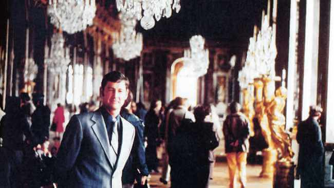 Niël Barnard in the Hall of Mirrors at Versailles outside Paris, France, shortly after his appointment as head of the National Intelligence Service. He was on an overseas tour to meet some of his peers.