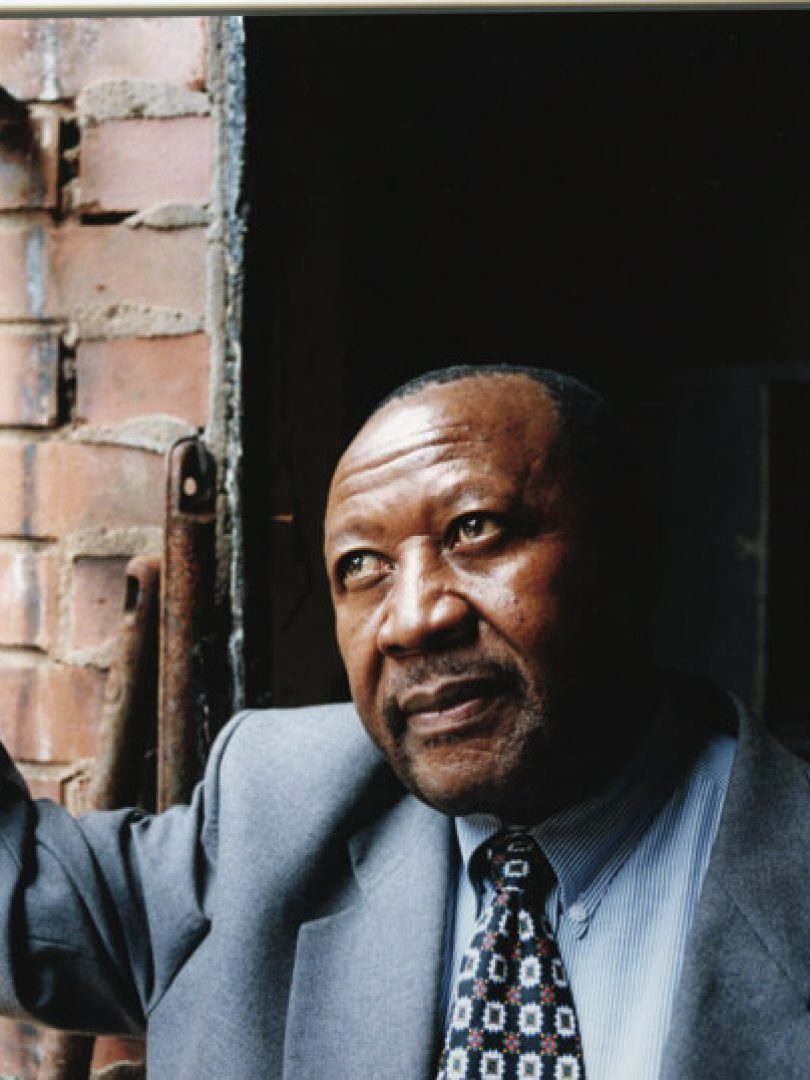 Isaac Mogase, ex-prisoner and former mayor of Johannesburg.