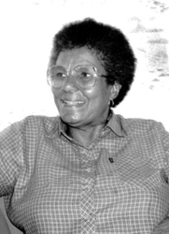Ruth Mompati around 1987. Unknown / Diana Russell