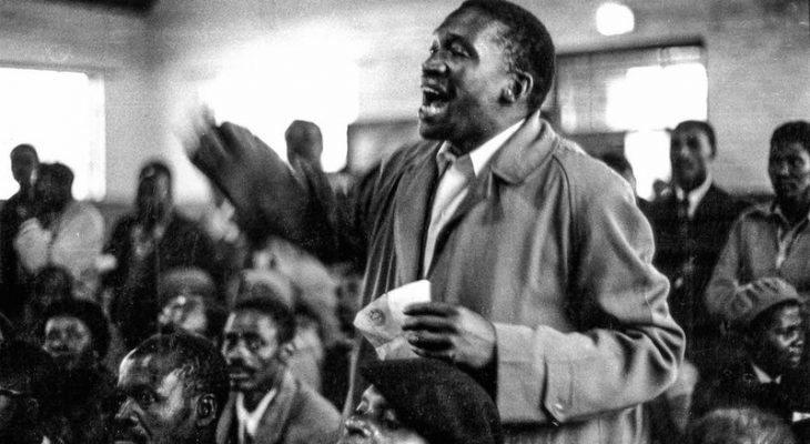 Titan of the struggle: Robert Sobukwe and other frustrated Africanists split from the ANC during a stormy provincial congress in 1958, leading to the formation of the Pan Africanist Congress.