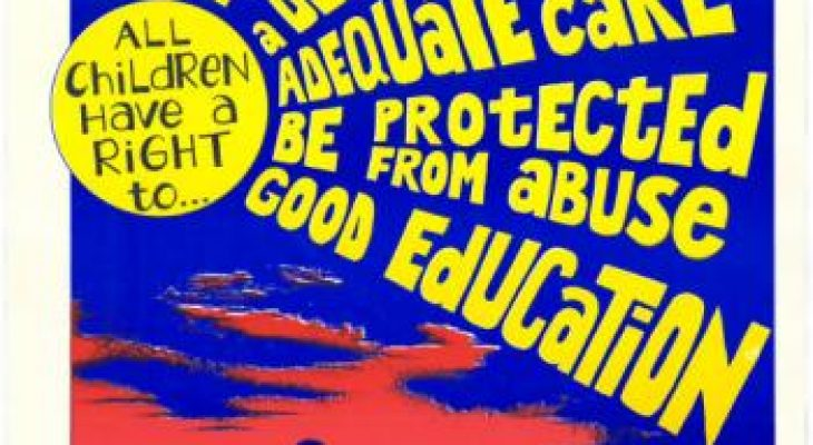 Children's Rights poster.