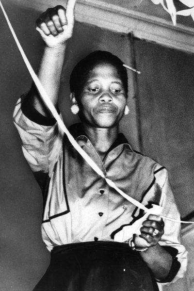 DM2000041002: SAED:POLITICS:WOMEN:MAR1956 - Guts and Granite - Lillian Ngoyi, President ot the ANC's womens League (for the second time), springs to fame as the new tough type of women leader.